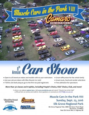 Muscle Cars In The Park VIII
