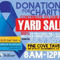 Charity Yard Sale and Silent Auction