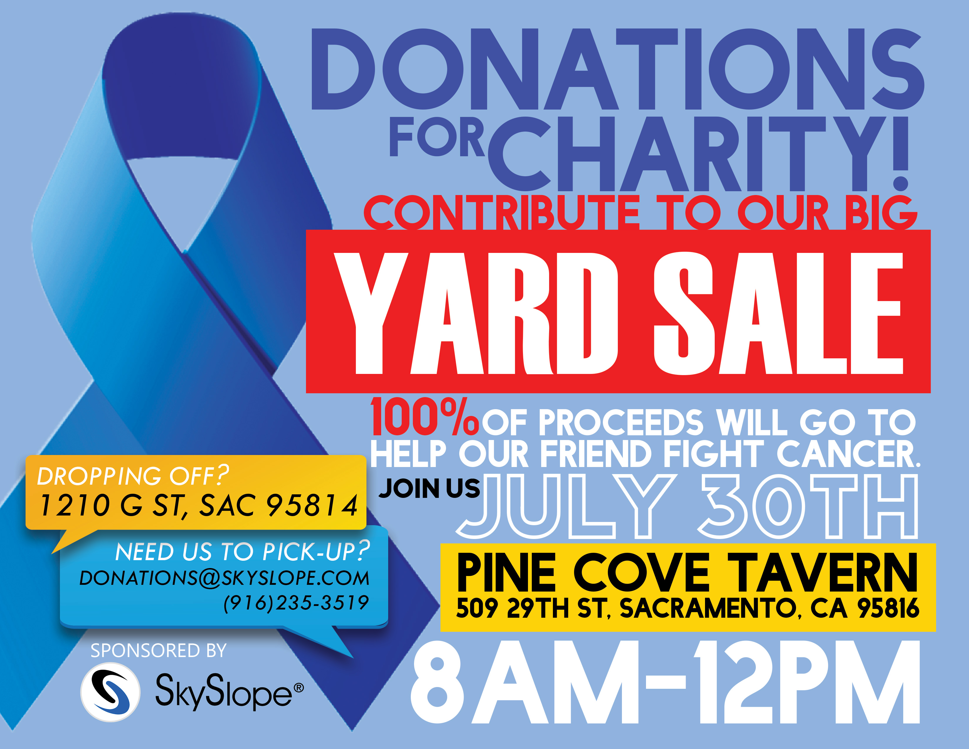 Charity Yard Sale and Silent Auction presented by SkySlope ...