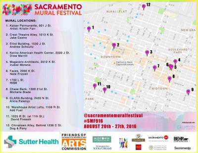 Tour De Sacramento Mural Festival