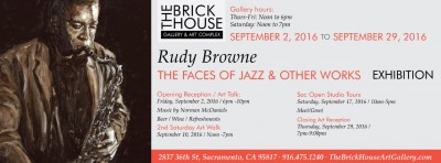 The Faces of Jazz and Other Works Exhibit