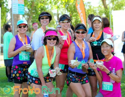 Photo courtesy of the FroYo Run