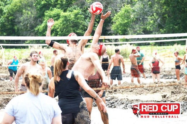 mud volleyball Red Cup Classic