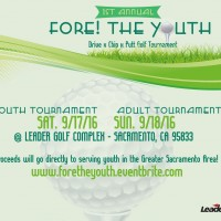 Fore the Youth: Golf Challenge and Fundraiser