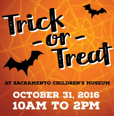 Halloween Trick Or Treating At The Sacramento Childrens Museum