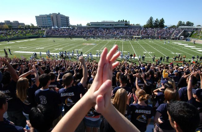 Photo courtesy of UC Davis Football