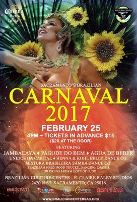 Sacramento's Brazilian Carnaval 2017