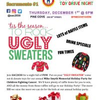 Ugly Sweater Night Toy Drive