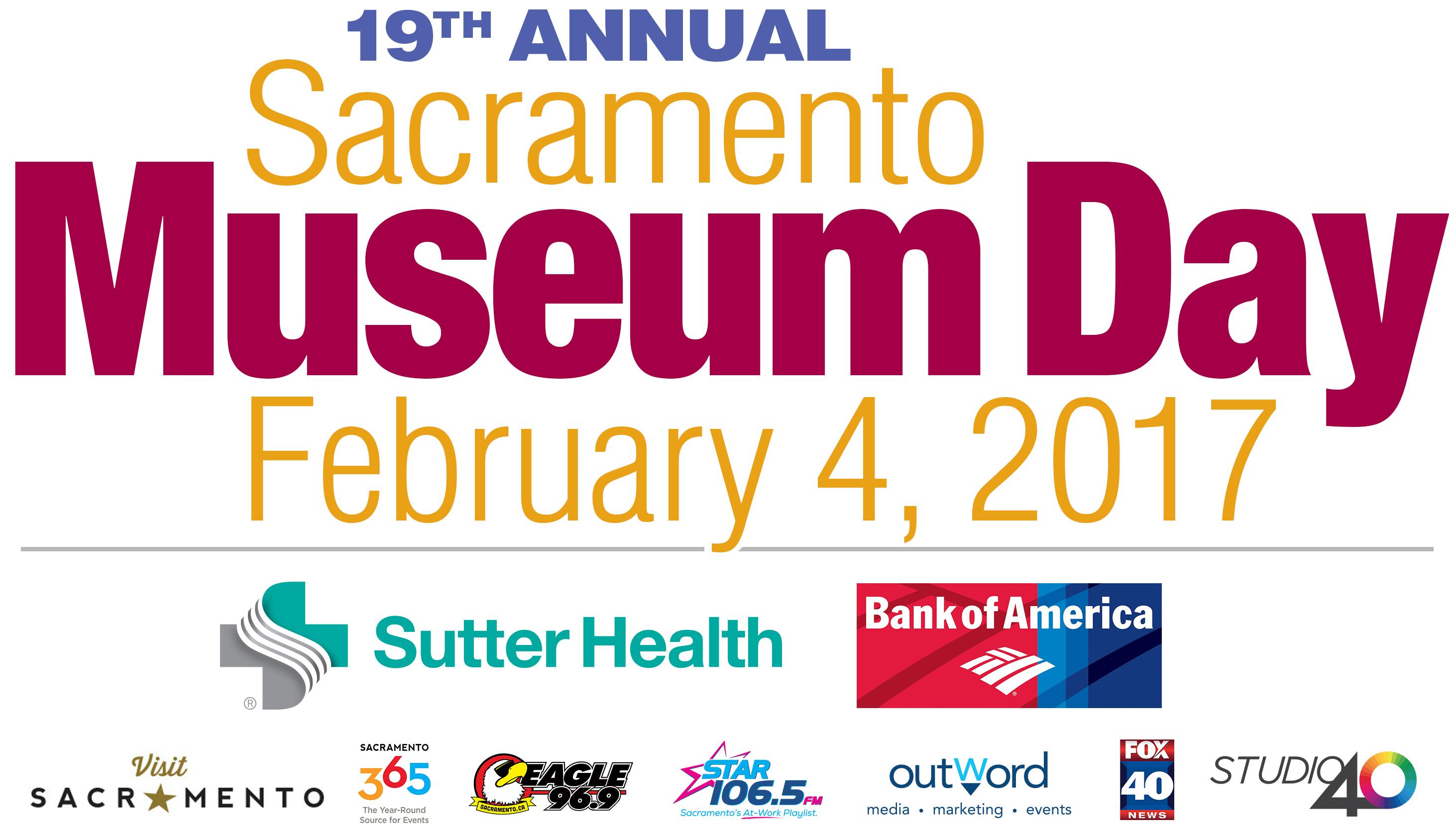 Sacramento museum day museums sacramento365 for Craft fairs sacramento 2017