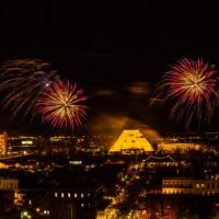 Fireworks - New Years Old Sac - 12312014