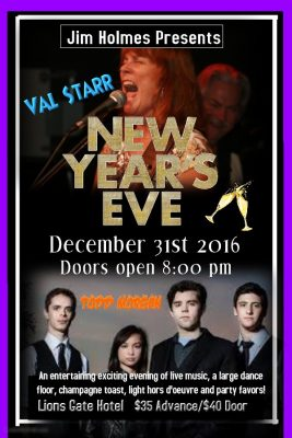 New Year S Eve Gala Lions Gate Hotel Presented By Jim
