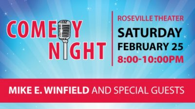 Comedy Night: Mike E. Winfield and Guests