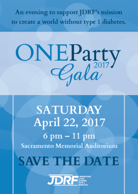JDRF One Party Gala 2017