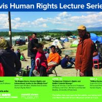 UC Davis Human Rights Lecture Series