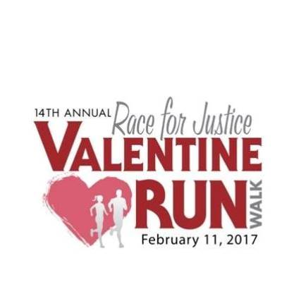 Race for Justice Valentine Run and Walk