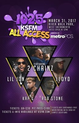 102.5 All Access presented by Metro PCS