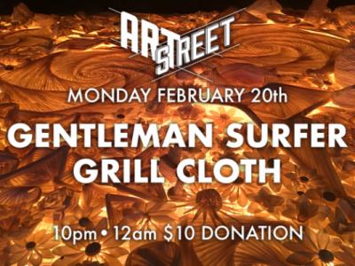 Gentleman Surfer and Grill Cloth (ArtStreet)