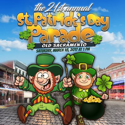 Old Sacramento St. Patrick's Day Parade
