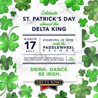 St. Patrick's Day Aboard the Delta King