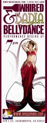 Belly Dance Performance at WHIRED Wine