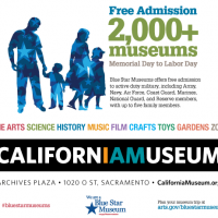 Blue Star Museum Days at The California Museum