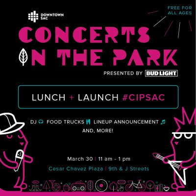 Lunch and Launch: Concerts in the Park Lineup Announcement