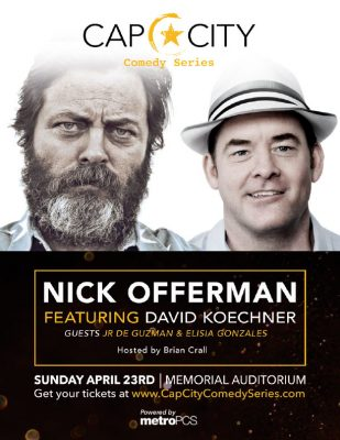 Nick Offerman featuring David Koechner: Cap City Comedy Series