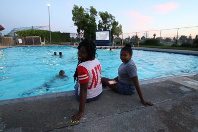 Float-In Movie Night at Rutter Swim Center