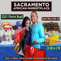 Sacramento African Marketplace 1st & 3rd Saturdays