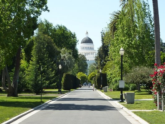Capitol Park is one of the most iconic Sacramento locations. With a lot of trees and architecture, this spot cannot be more perfect.