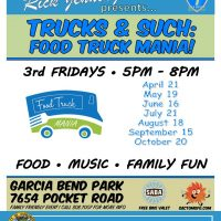 Trucks and Such: Food Truck Mania (Garcia Bend Park)
