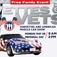 8th Annual Vettes and Vets and American Muscle Car Show