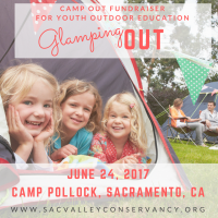 Glampout: Camp Out Fundraiser for Outdoor Youth Education