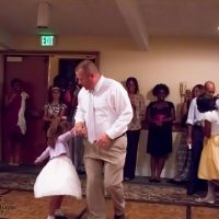 A King and His Princess Father Daughter Dance