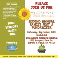 Welcome Home Doula Services Family Fest and Fundraiser