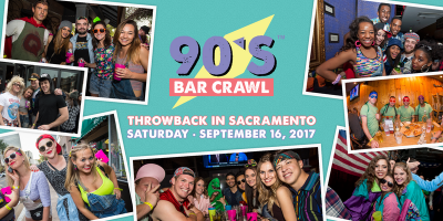 90s Bar Crawl: Throwback in Sacramento
