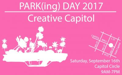 Sacramento United PARK(ing) Day: Creative Capitol