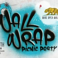 Walls Wrap Picnic Party (Wide Open Walls)