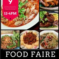 Iu-Mien Student Conference Mien Food Fair