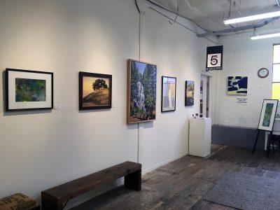 Gang of 5 at ARTHOUSE: Featured Artist Shirley Hazlett Exhibit