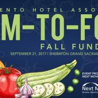 Sacramento Hotel Association Farm-to-Fork Fall Fundraiser
