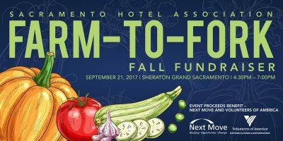 Sacramento Hotel Association Farm-to-Fork Fall Fundraiser