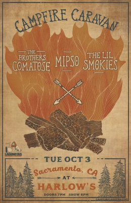 Campfire Caravan ft. The Brothers Comatose, The Li...