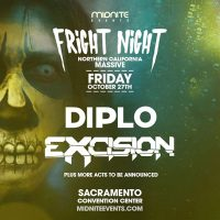 Midnite Events Presents Fright Night: DIPLO, Excision and more
