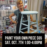 Paint Your Own Piece with Chalk Paint Workshop