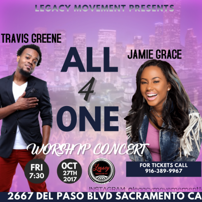 All 4 One Worship Concert