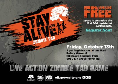 Stay Alive: Elk Grove Zombie Tag