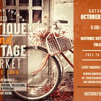 Historic Folsom Antique and Vintage Market