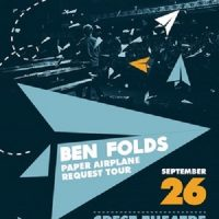 Ben Folds: Paper Airplane Request Tour
