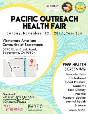Pacific Outreach Health Fair